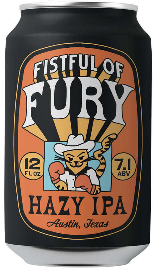 Willard's Fistfull of Fury Hazy IPA in a Can