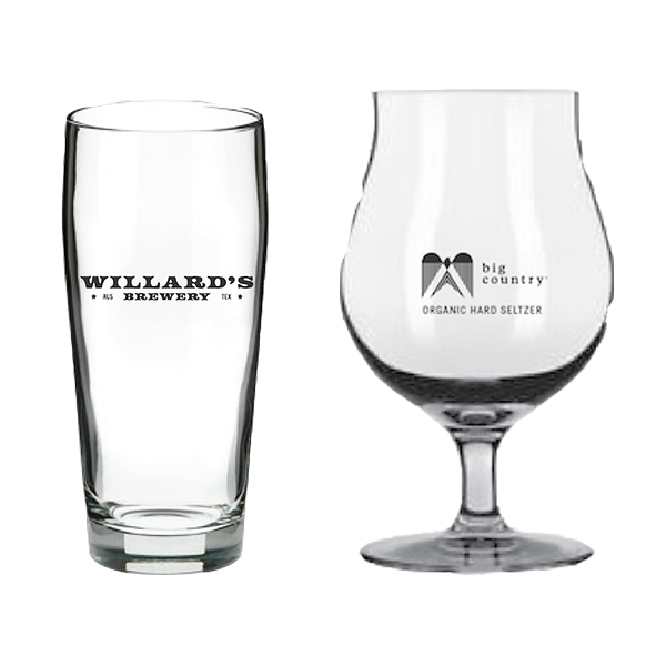 willards glassware