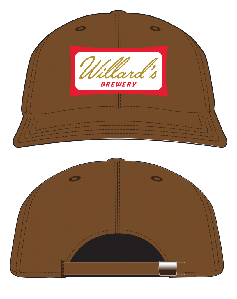 willard's brewery ebbets hat