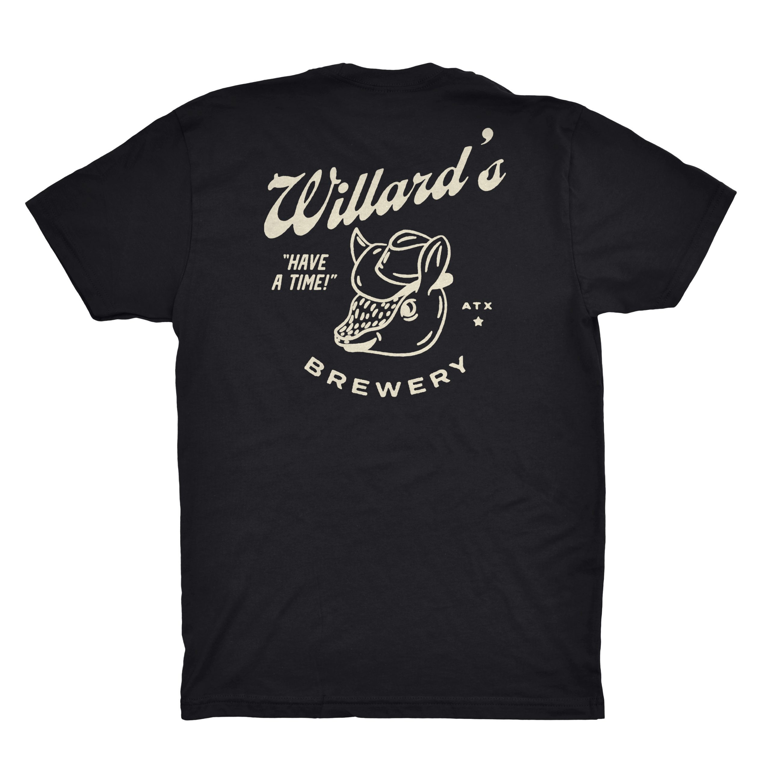 willard's black tshirt